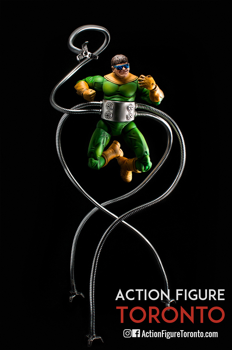 Action Figure Customizing, Doc Ock, Doctor Octopus, Marvel, Marvel Legends, Sinister Six