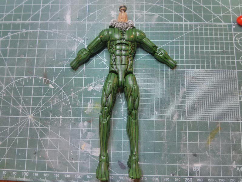 Marvel Legends Custom Action Figure Toy Vulture Spiderman Sinister Six Tutorial