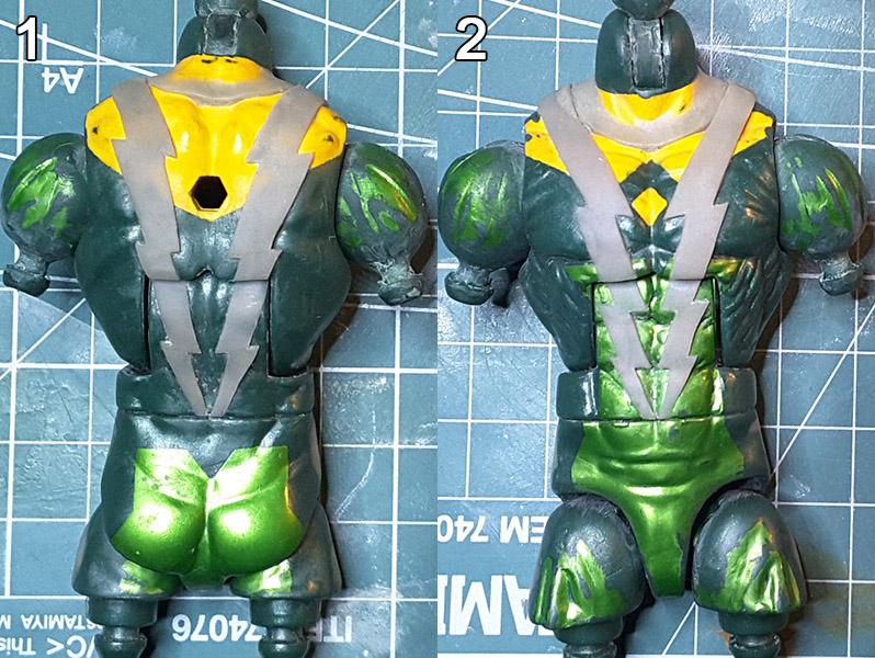 Marvel Legends Custom Action Figure Toy Electro Spiderman Sinister Six Tutorial