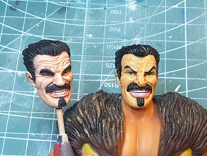 Marvel Legends Custom Action Figure Toy kraven Spiderman Sinister Six Tutorial