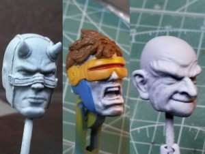 Marvel Legends Custom Action Figure Toy Painting Miniatures Priming Tutorial
