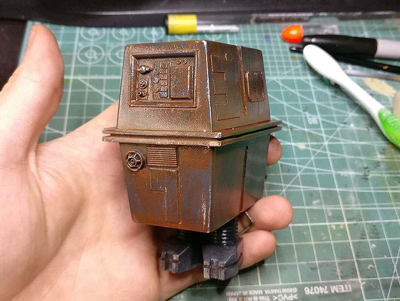 Bandai Custom Action Figure Toy Scale Model gonk mouse droid