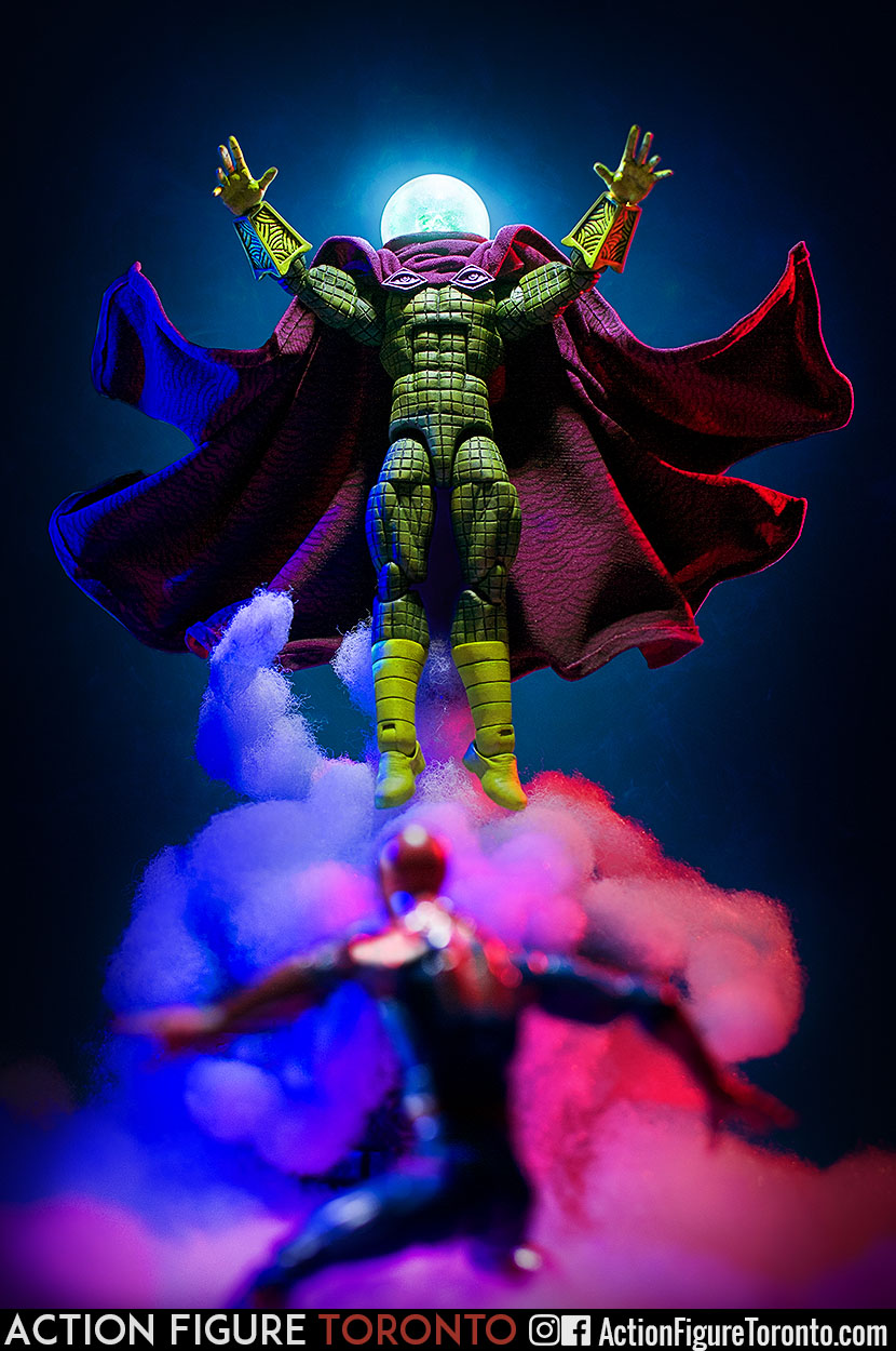 Marvel Legends Custom Action Figure Toy Mysterio Spiderman Sinister Six Tutorial